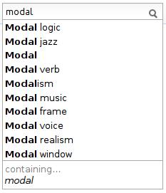 modal logic, modal jazz